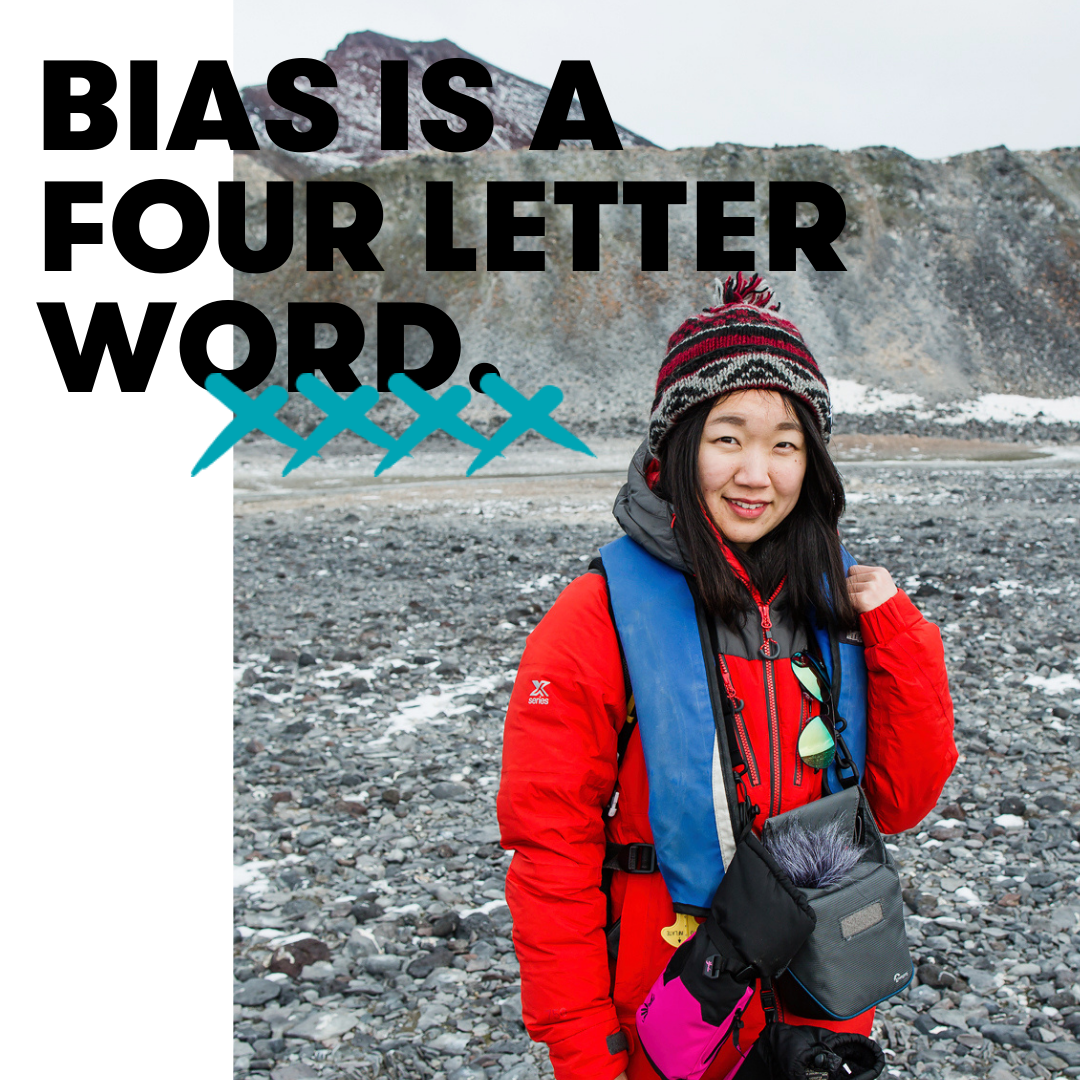 Bias is a four letter word - 28 Cold Hard Gender Facts - Homeward Bound Projects